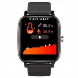 Reloj smartwatch Radiant RAS10201 Queensboro conexión Bluetooth pack correas