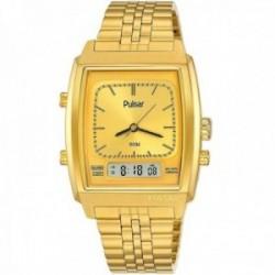 Reloj Pulsar hombre PBK036X2 edición limitada 40 Aniversario acero inoxidable analógico digital
