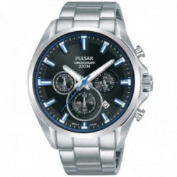 Reloj Pulsar hombre PT3A21X1 Regular multifunción acero inoxidable