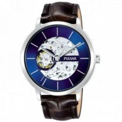 Reloj Pulsar hombre P8A007X1 acero inoxidable correa piel
