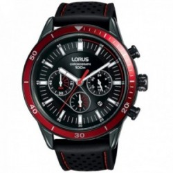 Reloj Lorus hombre RT305HX9 Sports acero inoxidable correa silicona