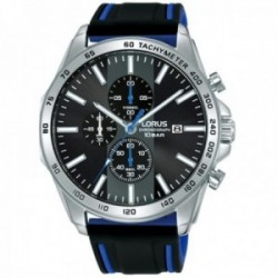 Reloj Lorus hombre RM347GX9 Sports acero inoxidable correa silicona