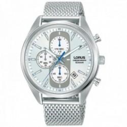 Reloj Lorus hombre RM355GX9 Sports acero inoxidable correa malla milanesa