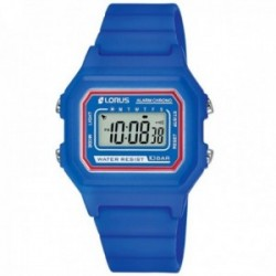 Reloj Lorus niño R2319NX9 azul correa silicona