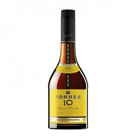 Torres 10 Brandy Imperial Gran Reserva - 0.7 L.