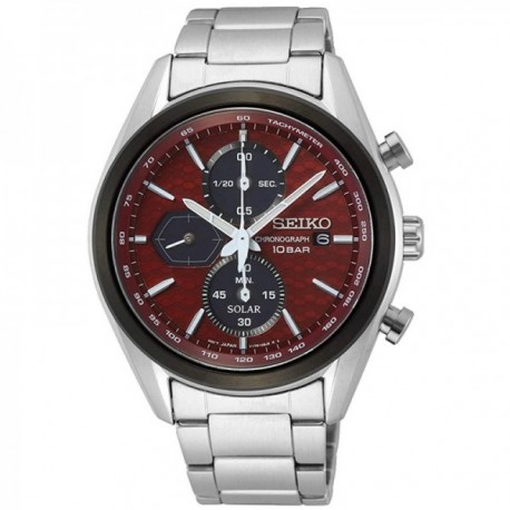 Reloj Seiko hombre SSC771P1 Macchina Sportiva Solar acero inoxidable