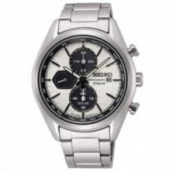 Reloj Seiko hombre SSC769P1 Macchina Sportiva Crono Solar acero inoxidable