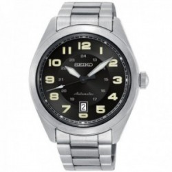 Reloj Seiko hombre SRPC85K1 Neo Sports Automático acero inoxidable esfera negra
