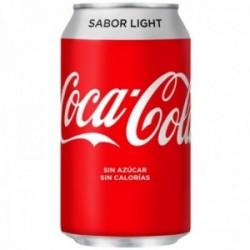 Coca-Cola Refresco De Cola Light Lata - 330 ml.