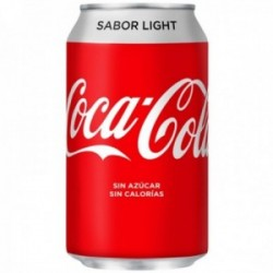 Pack 24 uds. Coca-Cola Refresco De Cola Light Lata - 330 ml.