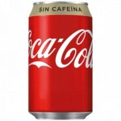 Pack 24 uds. Coca-Cola Refresco De Cola Sin Cafeína Lata - 330 ml.
