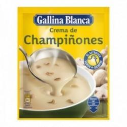 Pack 24 uds. Gallina Blanca Crema De Champiñones Sobre - 70 gr.