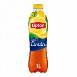 Pack 6 uds. Lipton Refresco De Extracto De Té Sabor Limón Sin Gas - 1 L.