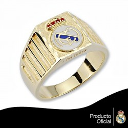 Sello escudo Real Madrid oro de ley 18k caballero cartier [6463]
