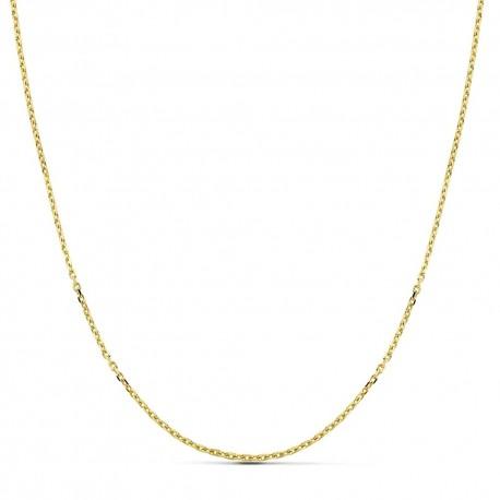 Cadena oro 18k maciza forzada 40 cm. 1.5 mm. 3.30 grs. [9497]