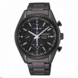 Reloj Seiko hombre SSC773P1 Macchina Sportiva. Bisel negro. Taquímetro. Cronógrafo
