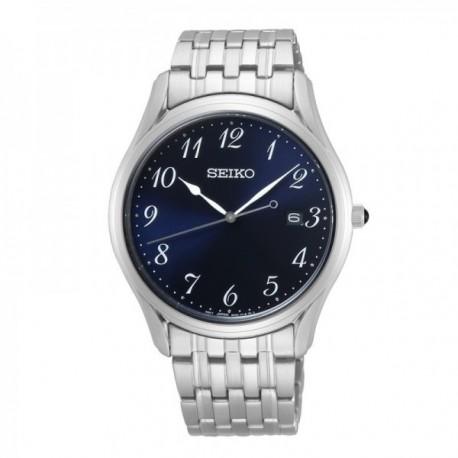 Reloj Seiko hombre SUR301P1 Neo Classic. Esfera azul