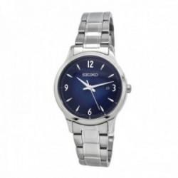 Reloj Seiko mujer SXDG99P1 Neo Classic Cuarzo Easy Removal Link Tres agujas plateadas.