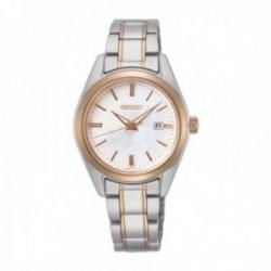 Reloj Seiko Mujer SUR634P1 Neo Classic Acero Inoxidable Bicolor