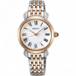 Reloj Seiko Mujer SUR628P1 Ladies Acero Inoxidable Bicolor Bisel Dorado