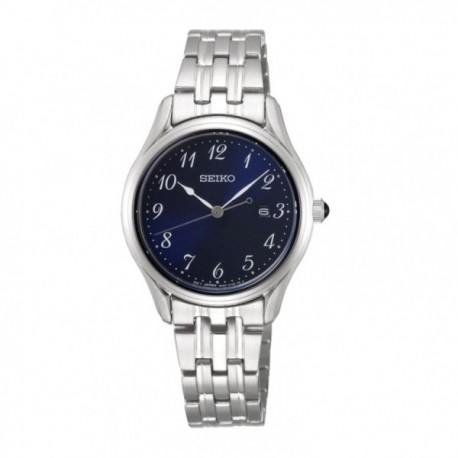 Reloj Seiko Mujer SUR641P1 Neo Classic Acero Inoxidable Visualización Fecha