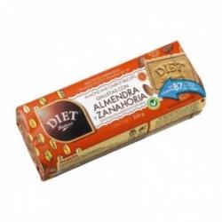 Pack 15 uds. Diet Galletas Almendra Zanahoria - 220 gr.