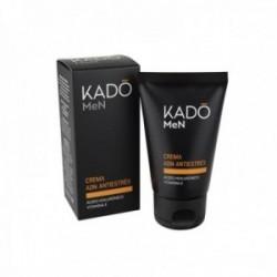 Kado Crema Facial Antiestrés Hombres Ácido Hialurónico Vitamina E - 50 ml.
