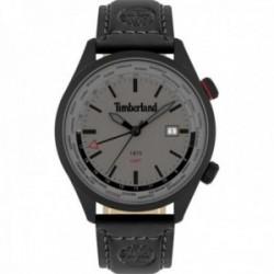 Reloj Timberland hombre 15942JSB-13 Malden acero inoxidable pulsera piel visualización fecha