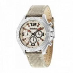 Reloj Timberland hombre 14655JS-07 Trafton acero inoxidable visualización fecha