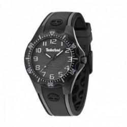 Reloj Timberland hombre 14323MSB-02 Dixiville S acero inoxidable negro silicona negra