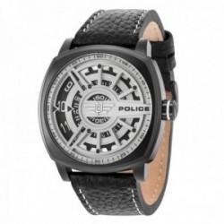 Reloj Police hombre R1451290002 Spedd Head acero inoxidable negro piel