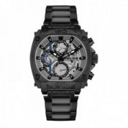Reloj Police hombre PL.15472JSB-13M Norwood acero negro multifunción visualización día fecha