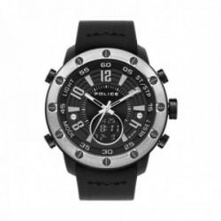 Reloj Police hombre PL.16015JPBS-02P Batur Anadigi Black policarbonato silicona