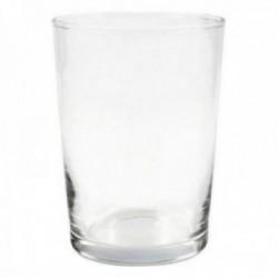 Pack 12 uds. Set de 4 vasos sidra LAV Best Offer cristal capacidad 250 ml.