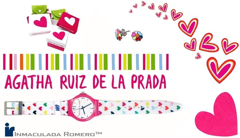 Agatha Ruiz de la Prada joyería joyas niña mujer tienda online pulseras colgantes pendientes relojes regalo comunión