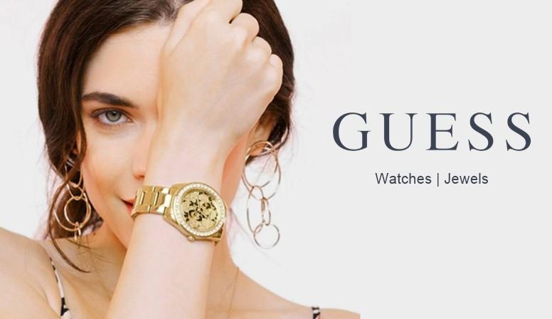 joyería online guess marca joyas relojes pulseras pendientes gargantillas moda