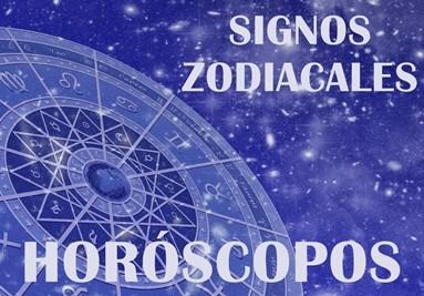 Signos zodiacales y horóscopos.