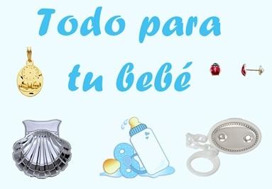 Artículos para bebé en joyería online